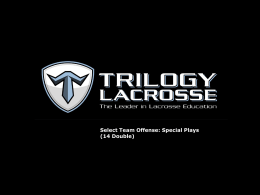 14 Double - Trilogy Lacrosse