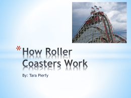 How Roller Coasters Work Components