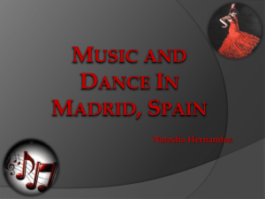 Music and Dance Madrid, Spain
