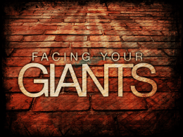 David – Conquering Giants