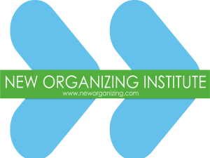 Theory of Change? - New Organizing Institute