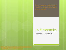 econ chapter 3 and 4 - ScarletBusinessEconomics