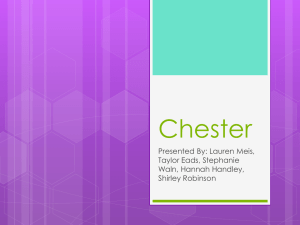 Final Chester Presentation
