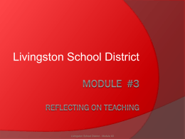 1. Reflection On Teaching Powerpoint