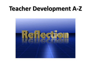 teacher development a- z