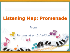 Instrument Families & Promenade Listening Map