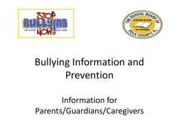 Bullying-Information-and-Prevention-for-Parents