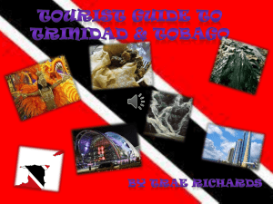 Tourism in Trinidad & Tobago