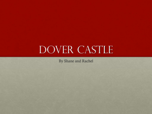 Dover castle - TeachMooreCreighton