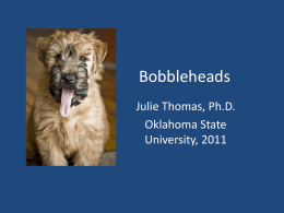 Bobbleheads - Scienceapalooza