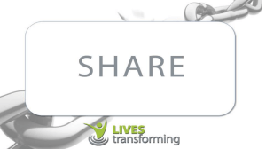 SHARE - Lives Transforming
