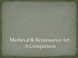 Medieval and Renaissance Art PPT