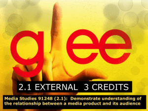 Glee introduction