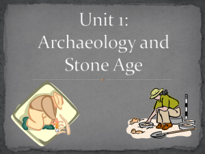 Archaeology Notes