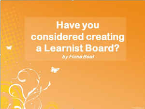 Learnist Board