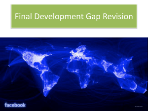 development gap FINAL revision Haiti