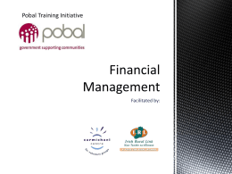 Financial Management training presentation