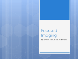Focused Imaging Presentation