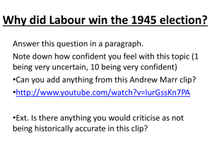 How successful was Labour`s domestic policy from