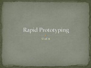 Rapid Prototyping PPT