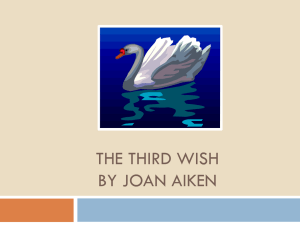 The Third Wish Pre-Reading ppt