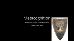 Metacognition Powerpoint
