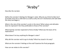 Analysis of Araby by James Joyce Essay Sample