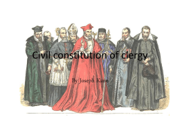 Civil constitution of clergy