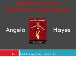 Angela Hayes from American Beauty directored by