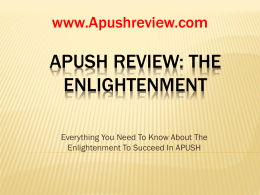 APUSH-Review-The-Enlightenment
