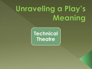 Unraveling a Play*s Meaning