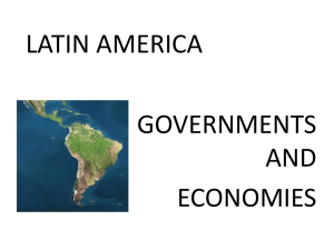 Latin America economies and governments