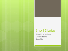 Short Stories - Garnet Valley School District