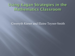Kagan Activities for Middle School Math--G. Kieser, E. Teyner