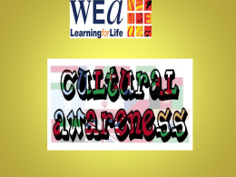 Presentation1 Cultural awareness