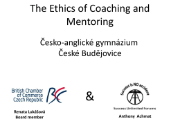 The Ethics of Coaching and Mentoring
