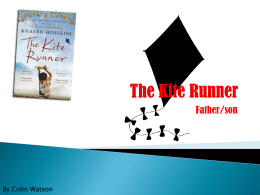 The Kite Runner father and son