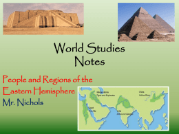World Studies-notes
