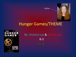 Hunger Games/THEME