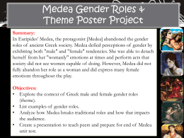 Medea Mini Poster Project