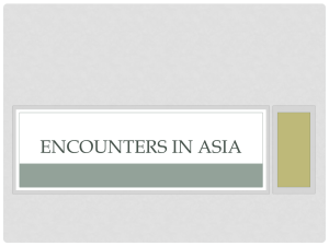 Encounters in East Asia