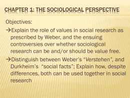 Chapter 1.3 - Mrs. Lewis`s Sociology Wiki