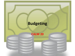 budgeting PP
