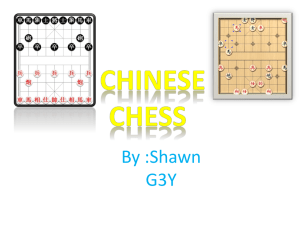 Chinese Chess Shawn #1