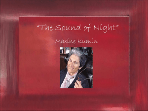 The Sound of Night