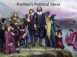 Puritans Political