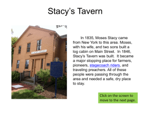 Stacy`s Tavern - Self Guided Tour of Glen Ellyn
