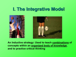 The Integrative Model - AssessmentandStudentLearning3