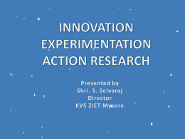 1 Why should I use action research?
