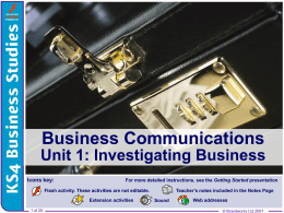 8 - Business Communications